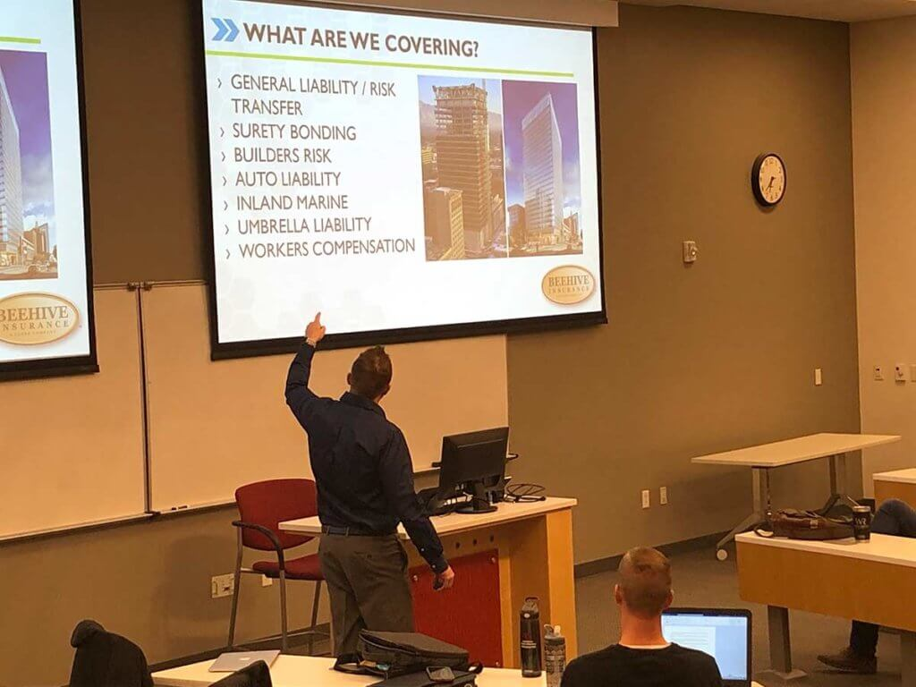 Teaching Managing Risk for Real Estate Developers at the University of Utah